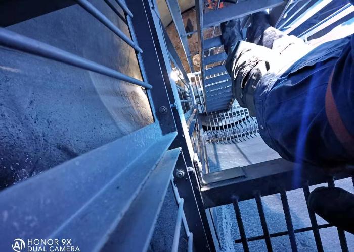 矿山风井井筒装备安装