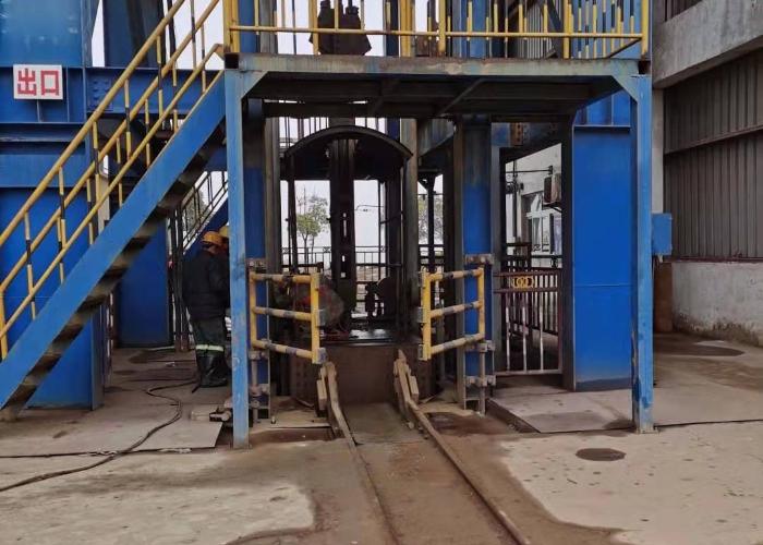 矿山副井井筒装备安装