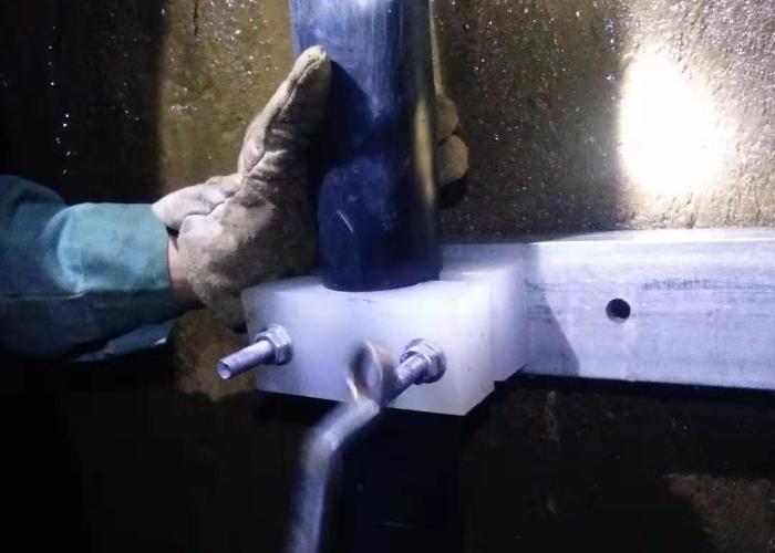 竖井井筒电缆敷设