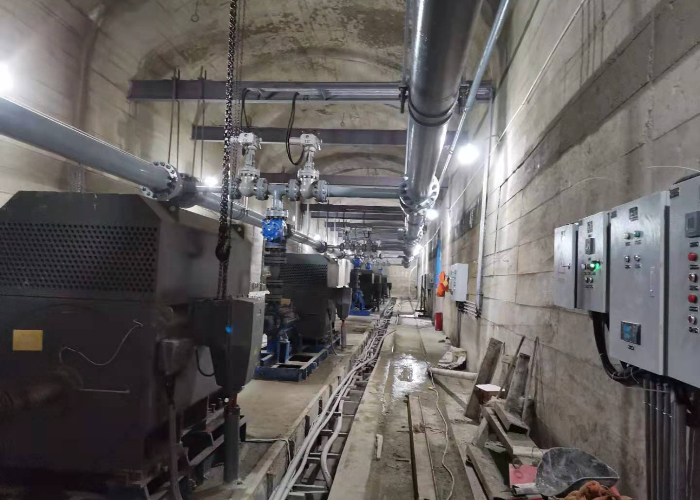 矿山管道安装