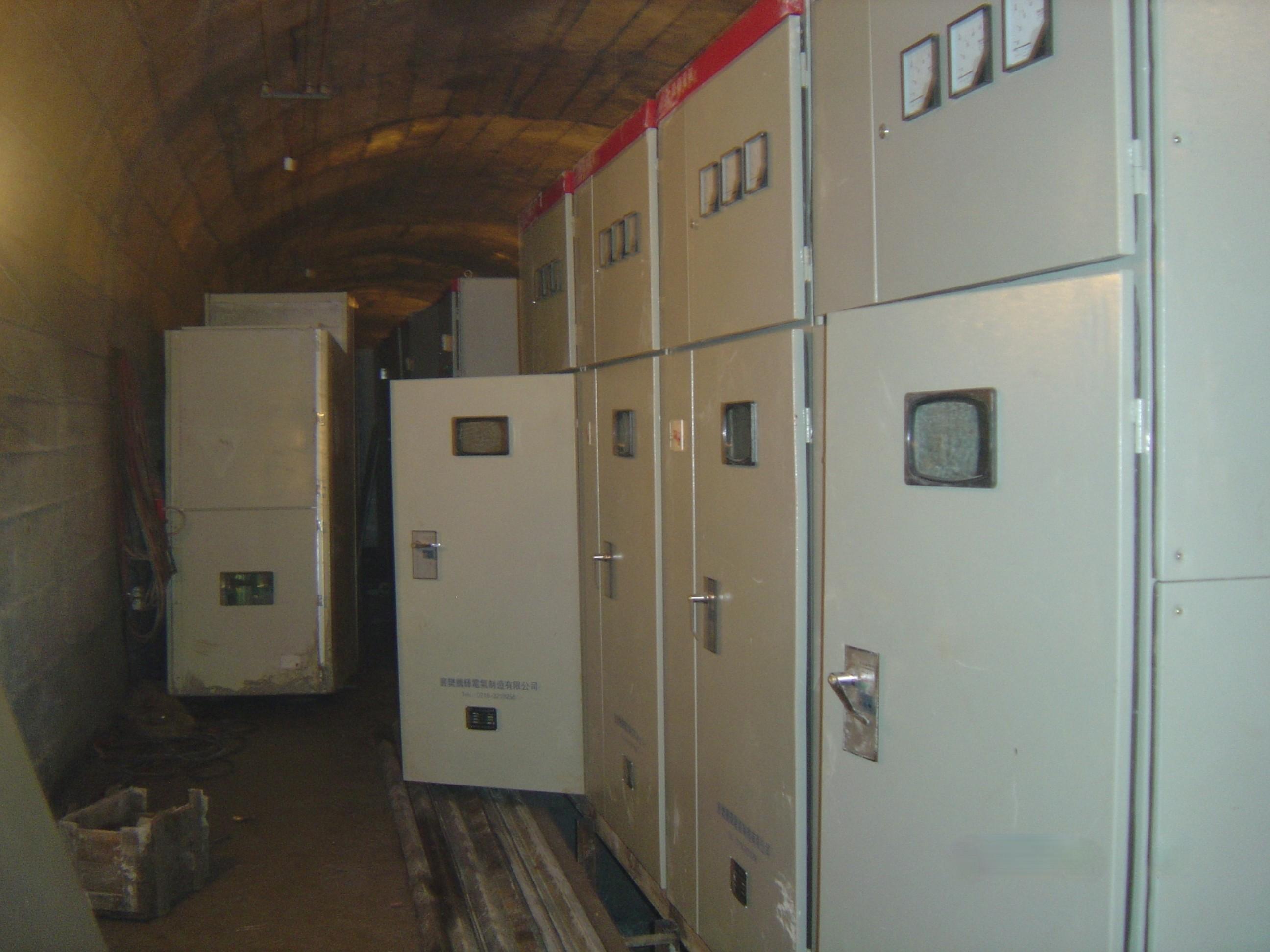 井下配电柜安装